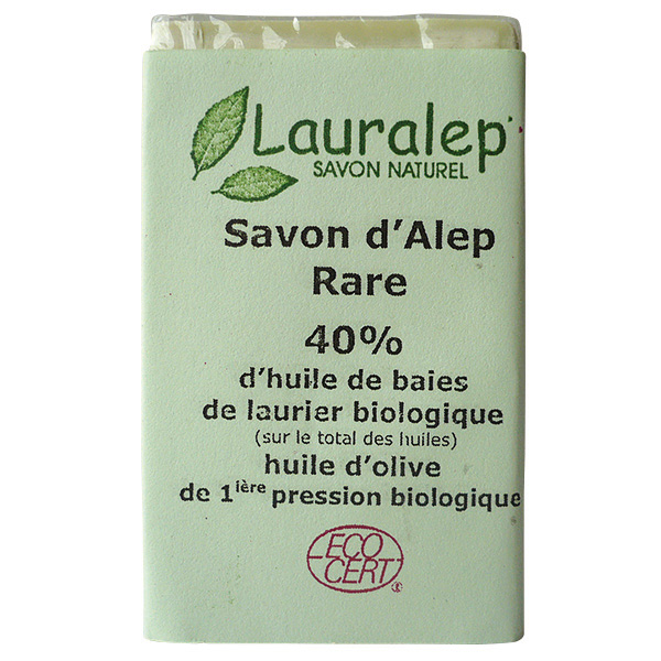 savon d 39 alep 40 huile de baie de laurier biologique 150 gr. Black Bedroom Furniture Sets. Home Design Ideas