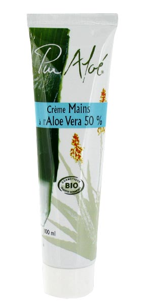 cr me mains bio l aloe vera 50. Black Bedroom Furniture Sets. Home Design Ideas