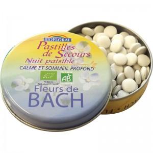 Pastilles De Secours Nuit Paisible Fleurs De Bach 50 G