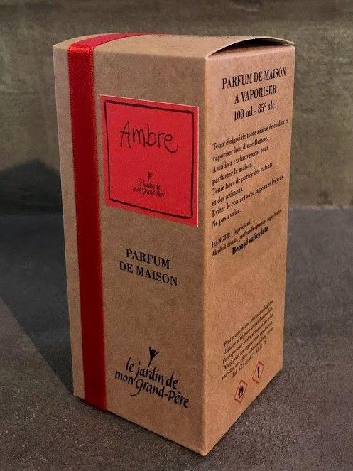 Vaporisateur parfum AMBRE - pour la maison 100 ml